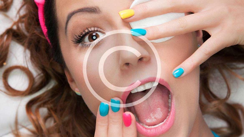 Fresh Design: Yellow and Blue Nail Art